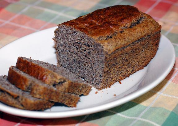 """Gluten Free Dark """" Rye"""" Bread"""