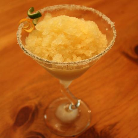 Golden Margarita Granita