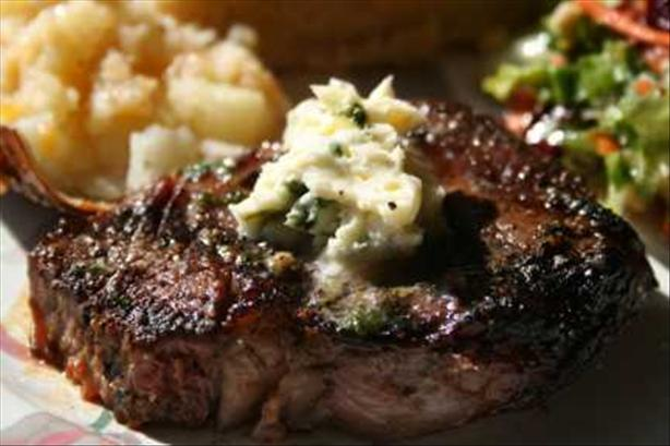 Filet Mignon With Lemon-Parsley Butter