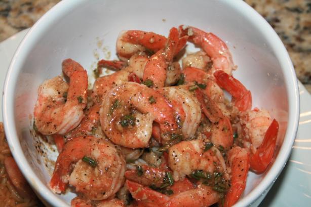 Easy Cajun Shrimp