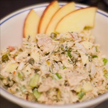 Lebanese Tuna Tahini Salad