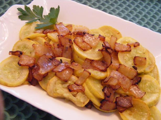 Squash Sauteed With Onions