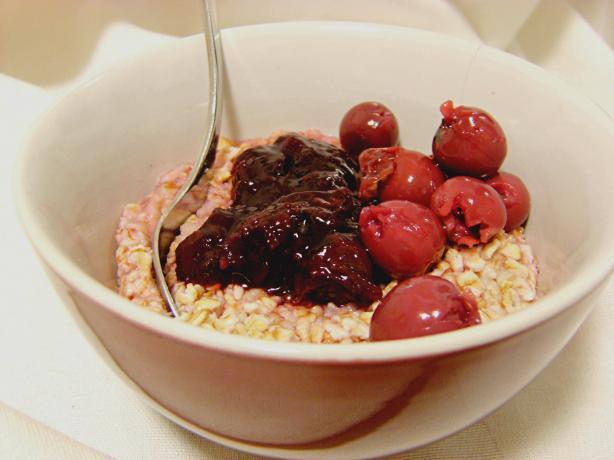 Cherry Vanilla Oatmeal