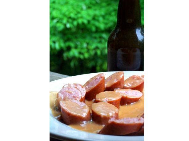 Sausage in Polish Sauce - Kielbasa W Polskim Sosie