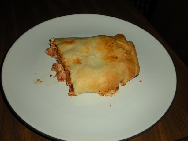 Chicken Pizza Wrap