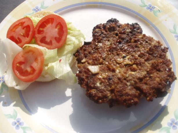 Kittencal's Juicy Blue Cheese Hamburgers/Burgers