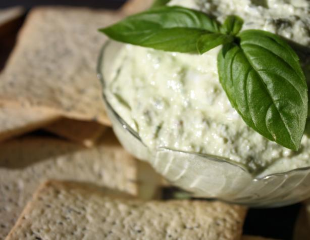 Basil and Feta Spread