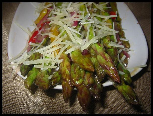 Sauteed Confetti Asparagus