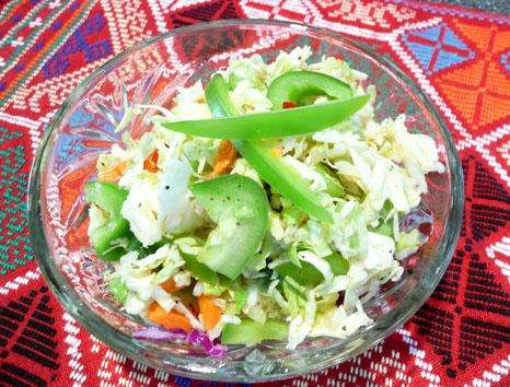 Oil/Vinegar Coleslaw