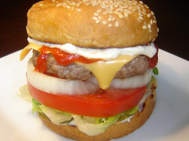 All-American Beef Burgers