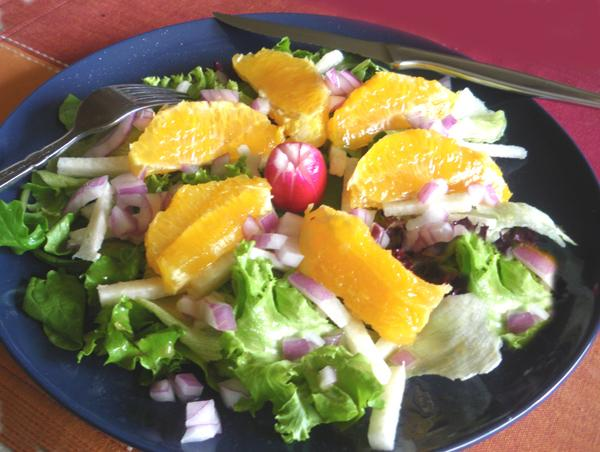 Orange Jicama Salad