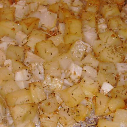 Crispy Midwest Potatoes and Turnips