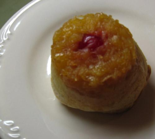 Paula Deen's Pineapple Upside Down Biscuits (Lighter Version)