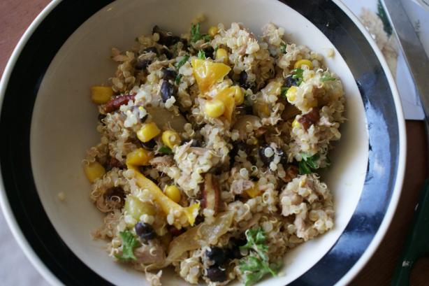 Tuna, Veggie & Quinoa Salad