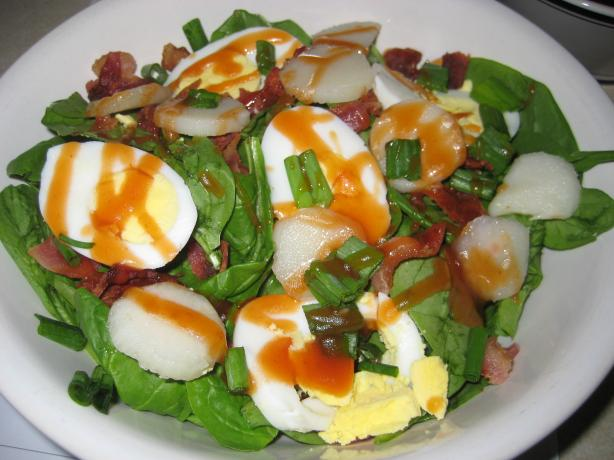 Spinach Toss Salad