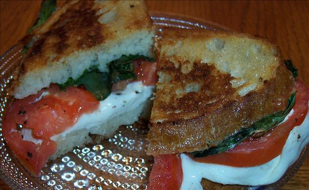 Taste of Summer Caprese Melts