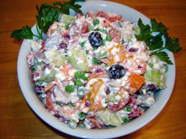 Dad's Summertime Vegetable Salad
