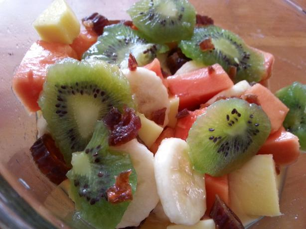 Gingered Fruit Salad