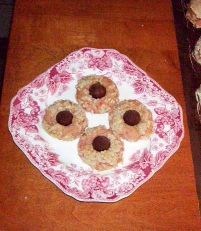 Christmas (Kissmas) Almond Cookies