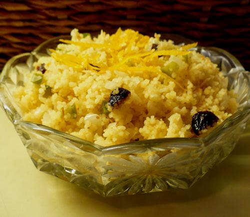 Orange-Nut Couscous