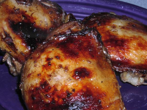 Balsamic Roasted Chicken Thighs