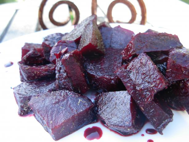 Baked Beets With Balsamic Vinegar