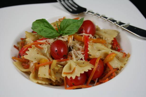 Roasted Vegetable Pasta Primavera