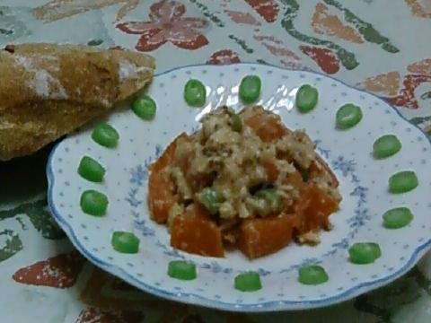 Salmon Tomato Dijon Mustard Salad - No Mayo