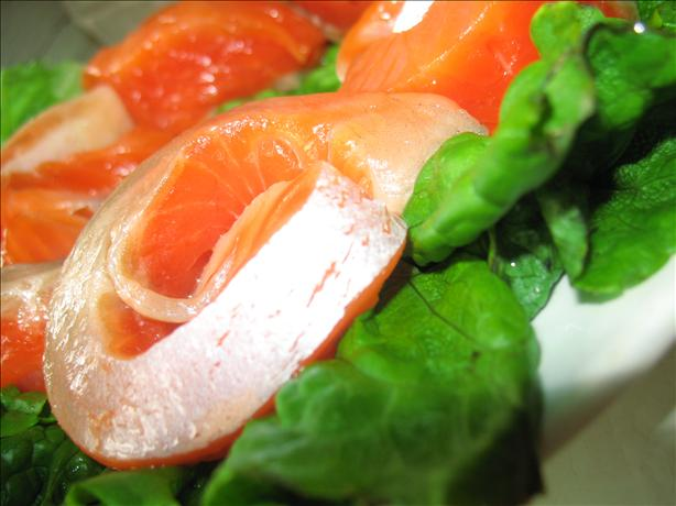 Freshly Salted Salmon
