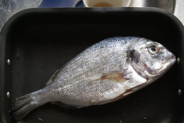 Roasted Fish (Eg: Sea Bream)