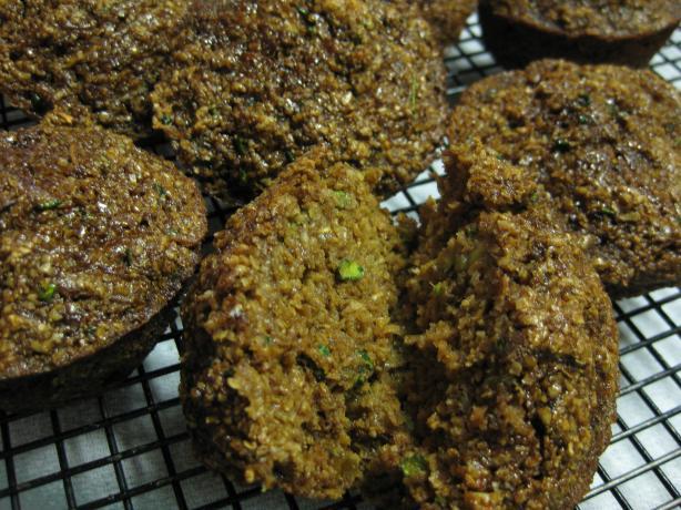 Oat Bran Zucchini Muffins