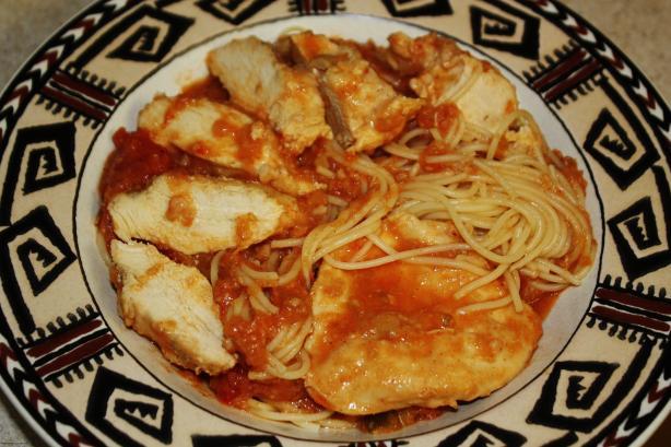 Chicken Perket Aka Croatian Chicken Stew
