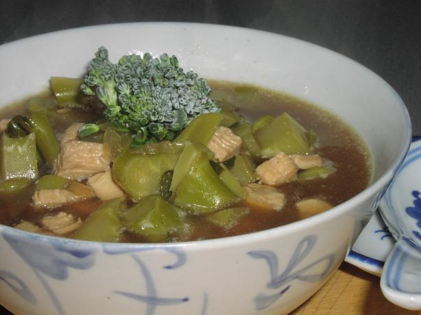 Broccoli Chicken Soup (Hcg - Phase 2)