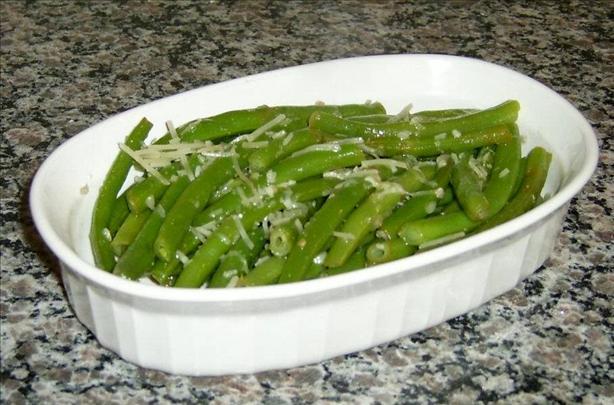Garlic-Lemon Green Beans