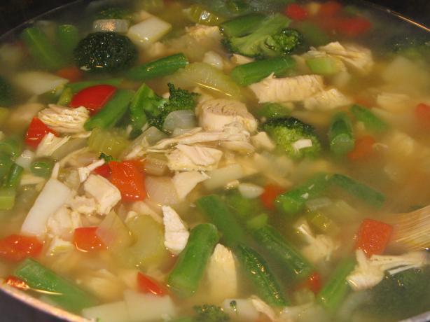 Turkey Broccoli Soup