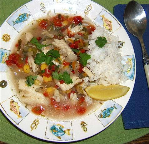 Hot and Spicy Fish Soup