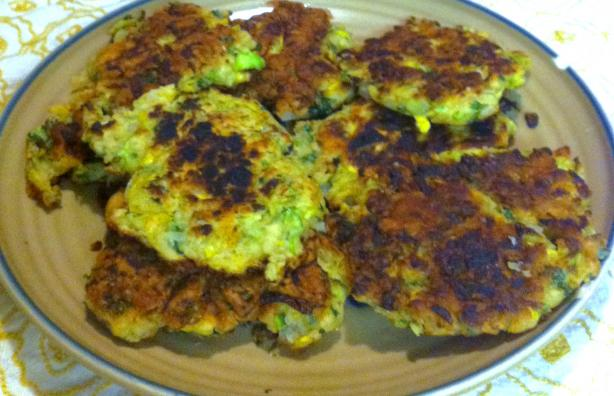 Zucchini and Yellow Squash Fritters