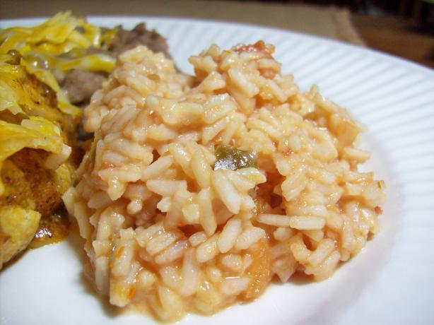 10 Minute Cheesy Mexican Rice