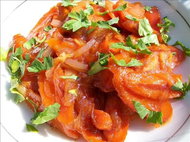 Glazed Carrots With Onions