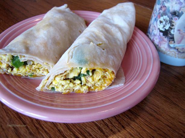 Papa D's Breakfast Burrito