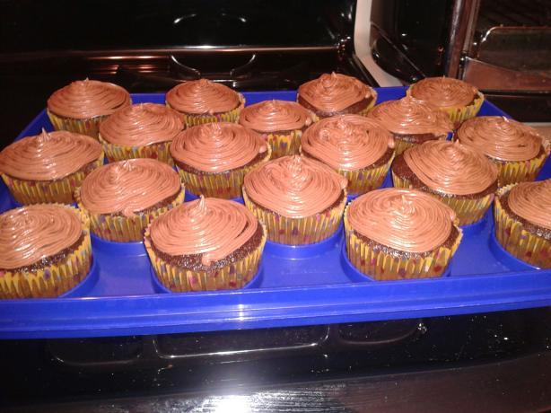 Buttermilk Chocolate Cupcakes