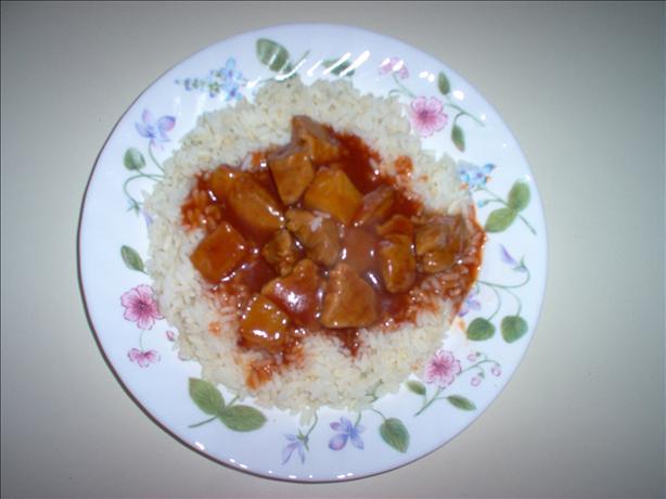 Prize-winning Polynesian Pork over Rice