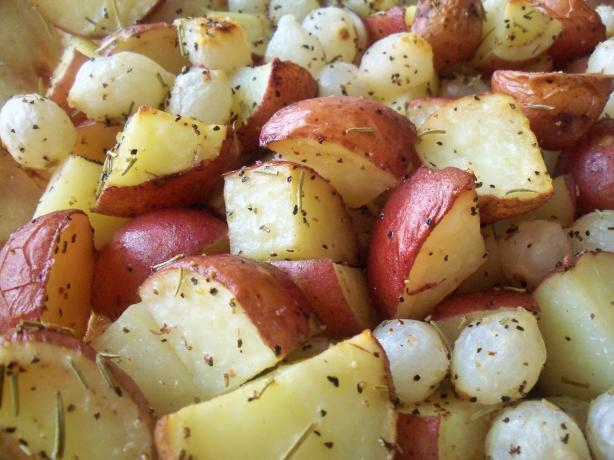 Potatoes and Onions (Adapted from Giada De Laurentiis)