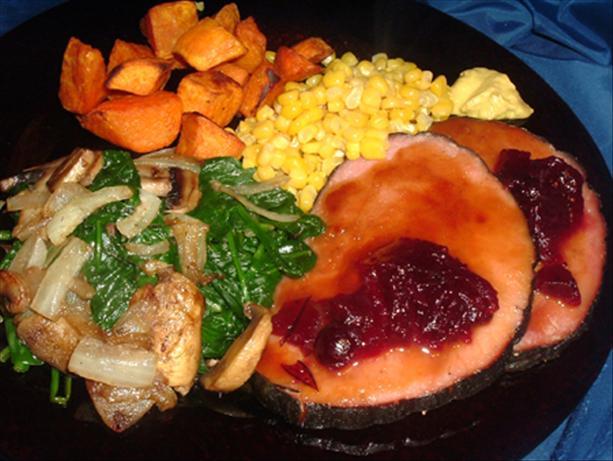 Crock Pot Honey-Dijon Ham
