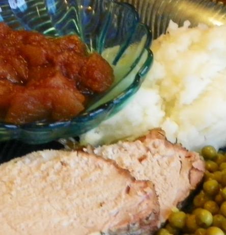 Thyme/Mustard Pork Roast