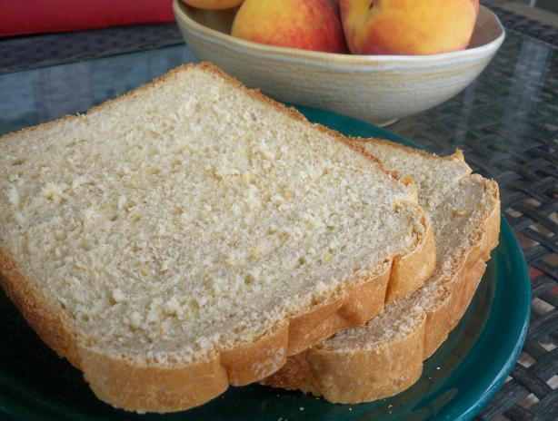 Peaches and Cream Bread (Bread Machine)