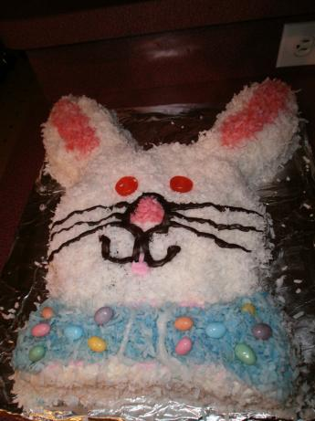 Devil's Food Bunny Cake