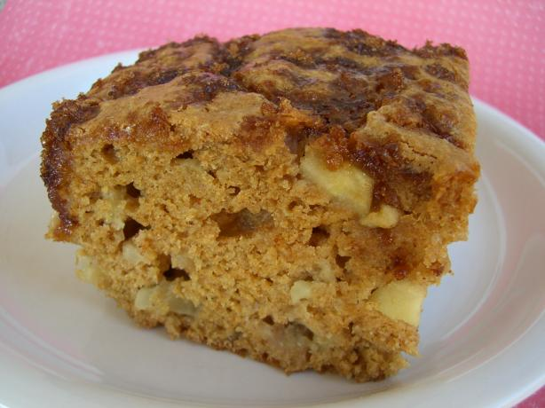 No Fat Old Fashioned Apple Cake