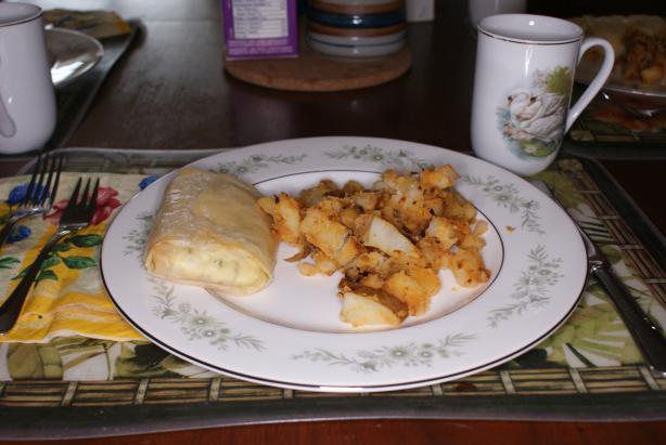 Christmas Breakfast Strudels