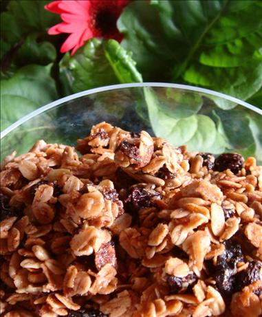 Raisin and Date Granola